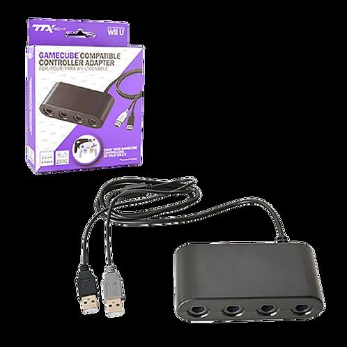 WII U 4 Port Gamecube Controller Adapter TTX