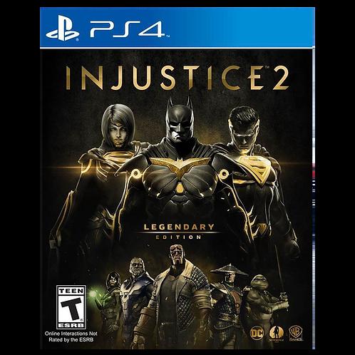 Injustice 2 Legendary Ps4