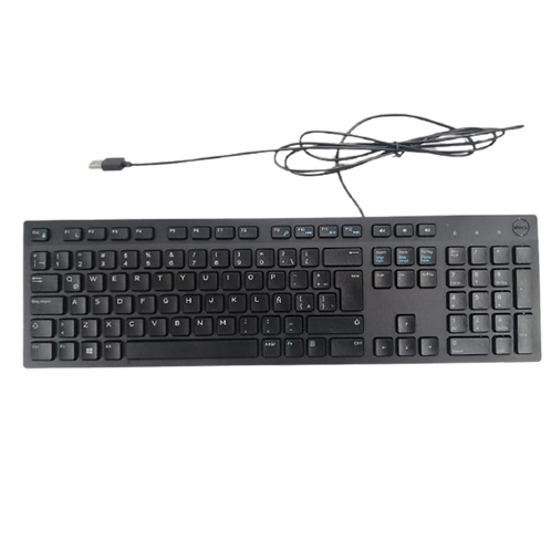 Teclado Dell KB216 Alambrico USB Negro