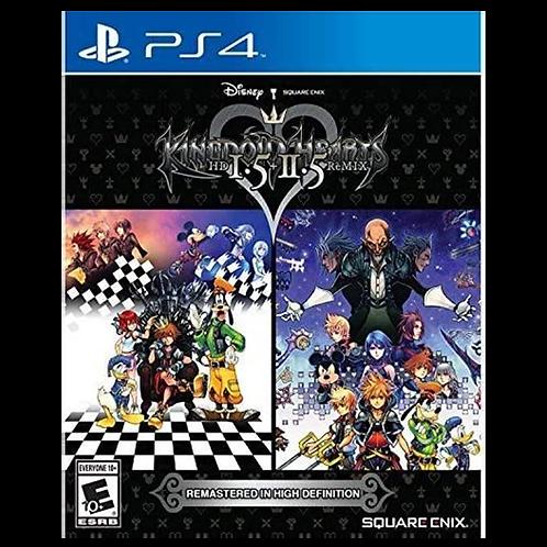 Kingdom Hearts 1.5 + 2.5 Hd Ps4