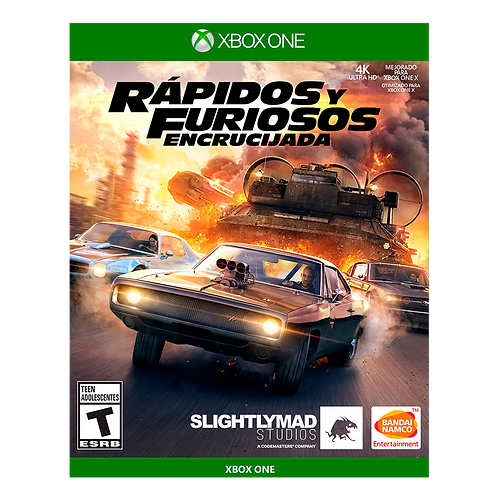 Rapidos y Furiosos Encrucijada Xbox One