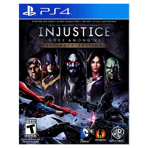 Injustice Gods Among Us Ultimate Ps4