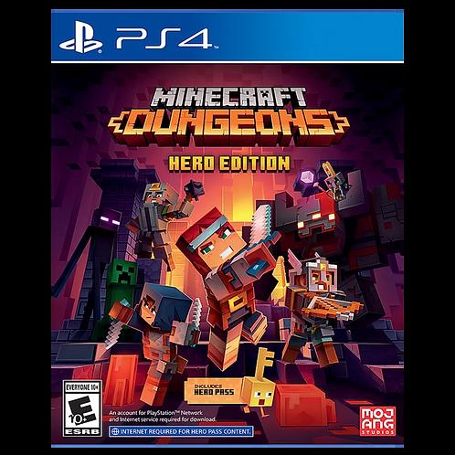 Minecraft Dungeon Hero Edition Ps4