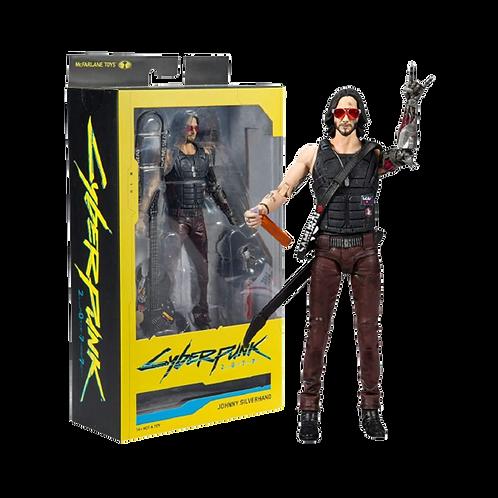 "Cyberpunk 2077 Figures - S02 7"" Scale Johnny Siverhand Va"