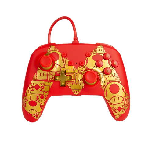 Wired Controller Switch Golden M 0989 PowerA