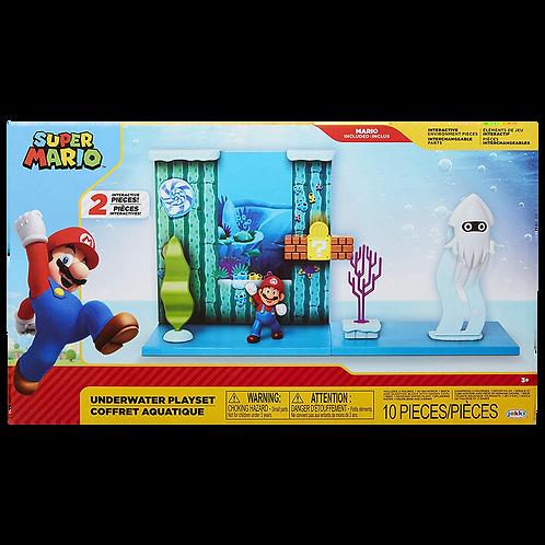 Super Mario Underwater Playset Jakks