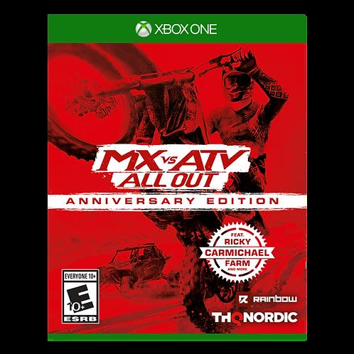 Mx vs Atv All Out: Anniversary Edition Xbox One