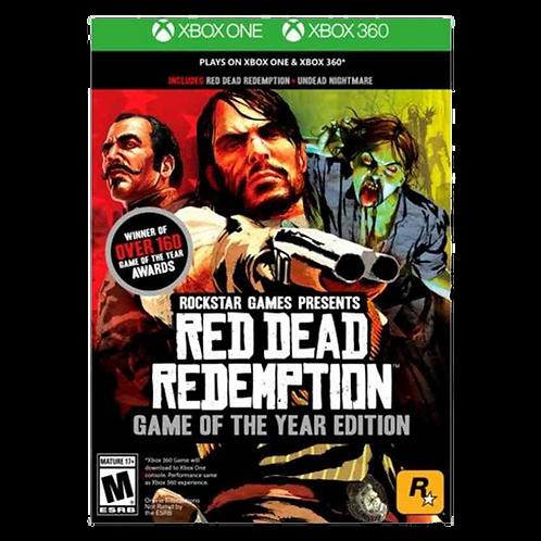 Red Dead Redemption Goty Xbox 360/Xbox One