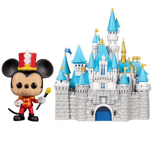 Funko Sleeping Beauty Castle And Mickey Mouse 21