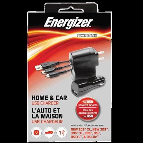 Cargador Energizer 3Ds/Ndslite