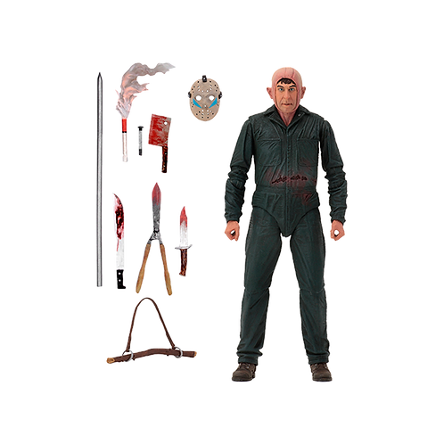"""Friday The 13Th 7"""" Scale Figures - Ultimate Part V Roy Burns"""