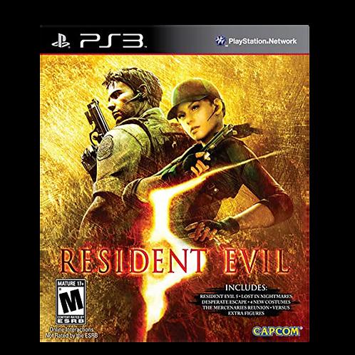 Resident Evil 5 Gold Ps3