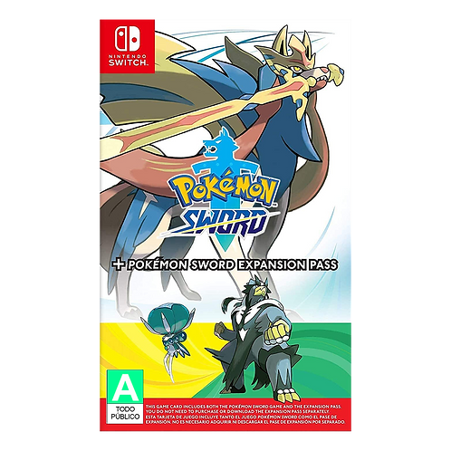 Pokemon Sword + Expansion Pack Switch