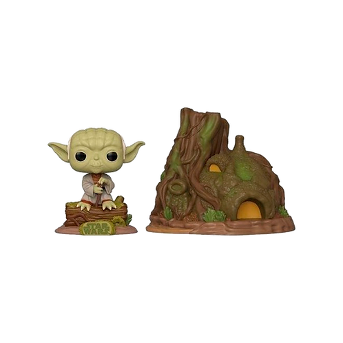 Funko Dagobah Yoda With Hut 11