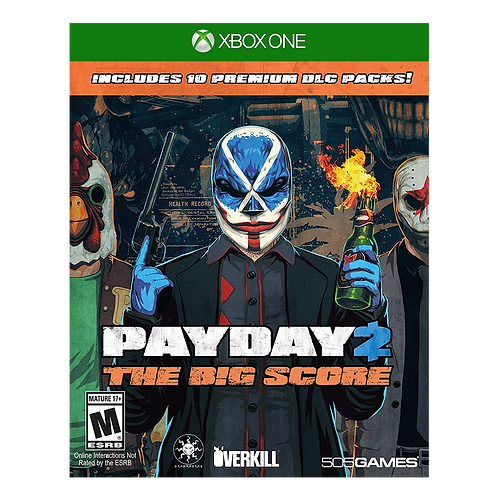 Payday: The Big Score Xbox One