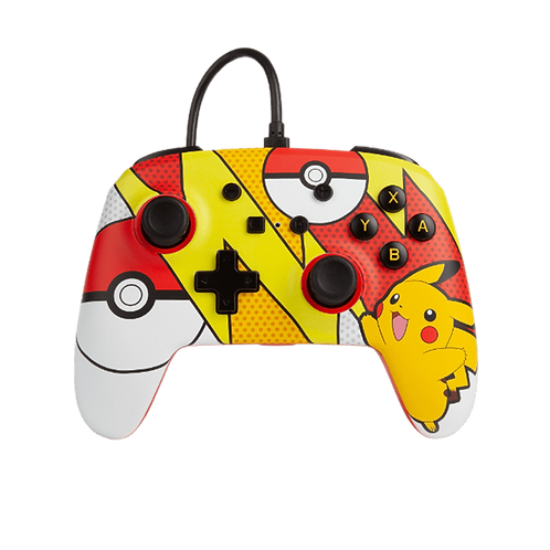 Wired Controller Switch Pikachu PoP Art 0068 PowerA