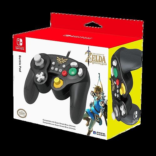 Controller Battle Pad Zelda Hori.- Switch