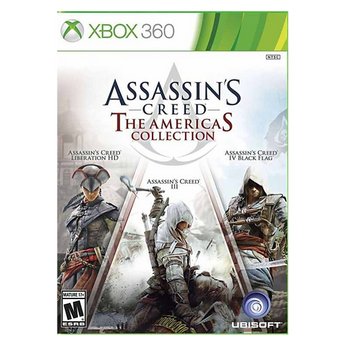 Assassins Creed The American Collection Xbox 360