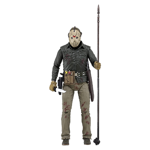 """Friday The 13Th 7"""" Figures - Jason Part 6 Ultimate Edition"""