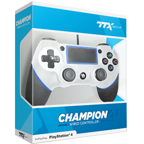 Control Alambrico  Blanco Ttx.- Ps4