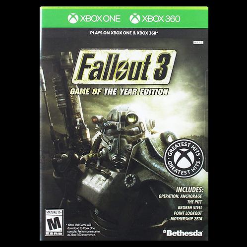 Fallout 3 Goty Xbox 360