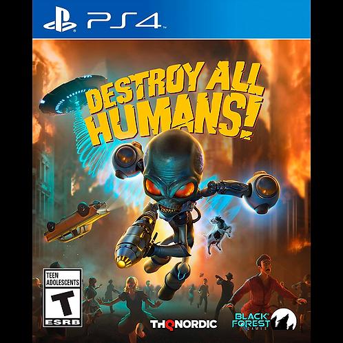 Destroy All Humans! EU Version  PS4