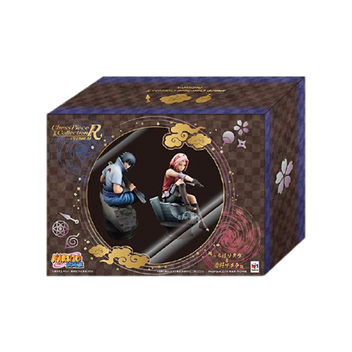 Figuras Naruto Chess Piece Collection R Premium- Sasuke y Sakura