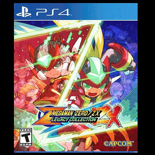 Mega Man Zero Zx Legacy Collection Ps4