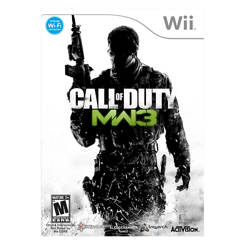 Call Of Duty Mw3 Wii