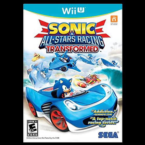 Sonic All Star Racing Transformed Wii U