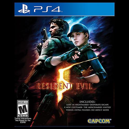 Resident Evil 5 Ps4