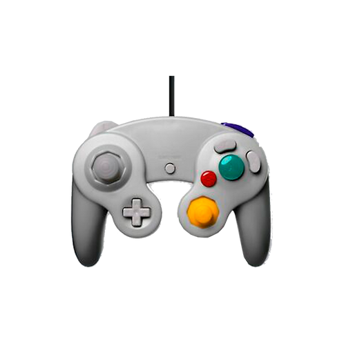 Gc Controller - Wired - Silver (For Gamecube/Wii U/Wii)