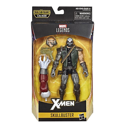 Figura Marvel Legends - Xmen Skullbuster