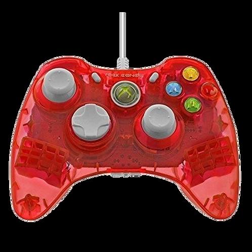 Control Alambrico Rock Candy  Rojo Xbox 360