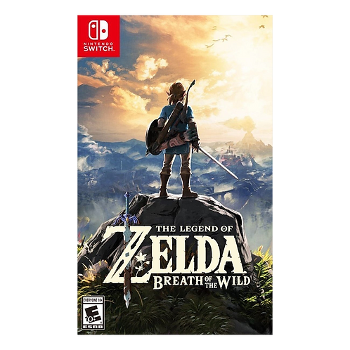 Zelda Breath Of The Wild Switch