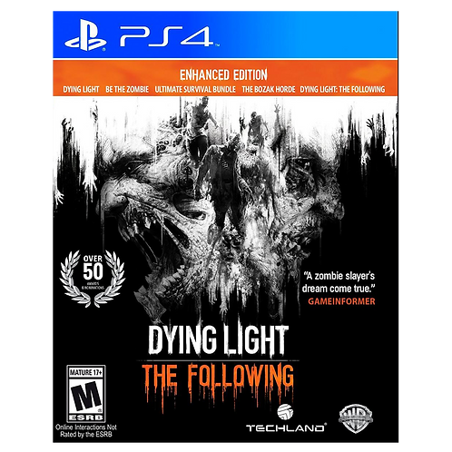 Dying Light The Followin Enhanted Edition Ps4