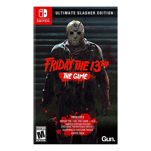 Friday The 13Th Ultimate Edition Nintendo Switch