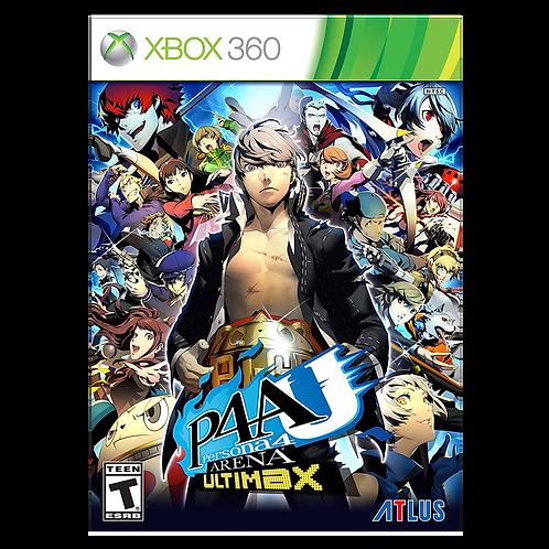 Persona 4 Arena Ultimax Xbox 360