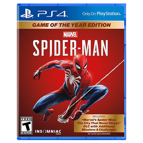 Spiderman Goty Ps4