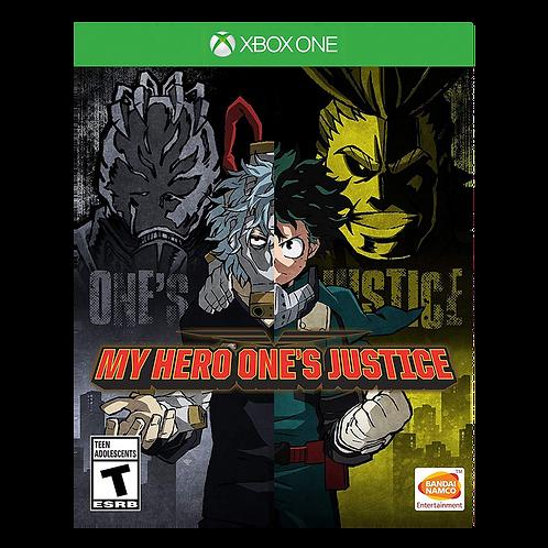 My Hero Ones Justice Xbox One