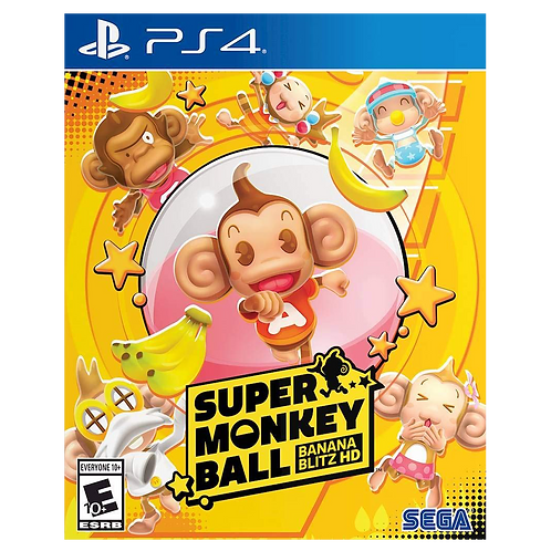 Super Monkey Ball Banana Blitz Ps4