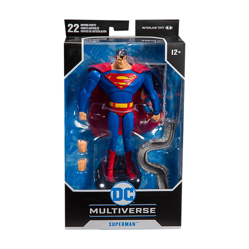 DC Multiverse Figures - Sueperman (The Animation Serie)