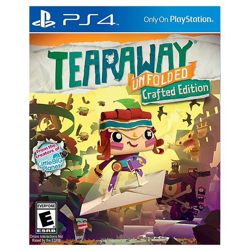 Tearaway Unfolded Edicion Crafted Ps4