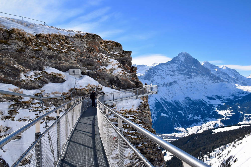 First Cliff Walk by Tissot | Grindelwald