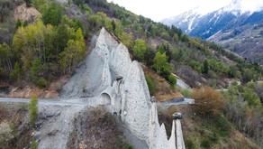 The Earth Pyramids of Euseigne (VS)   En