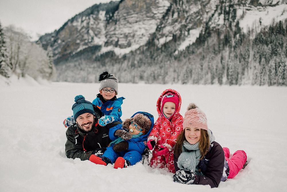 Montriond Lake - Family of 5 Switzerland