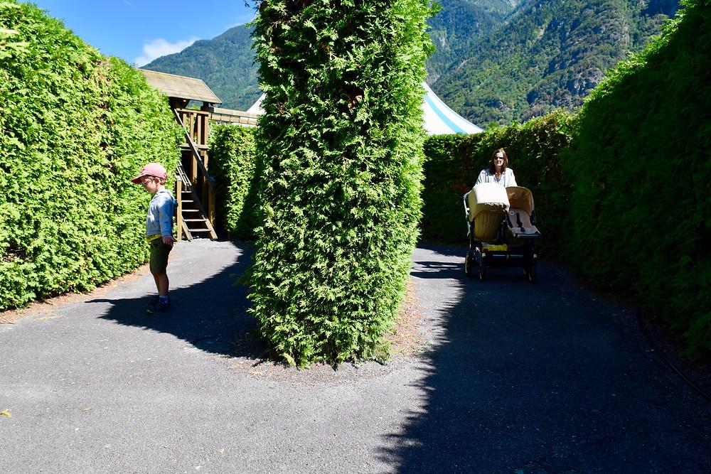 Labyrinthe Aventure Valais Family Switzerland