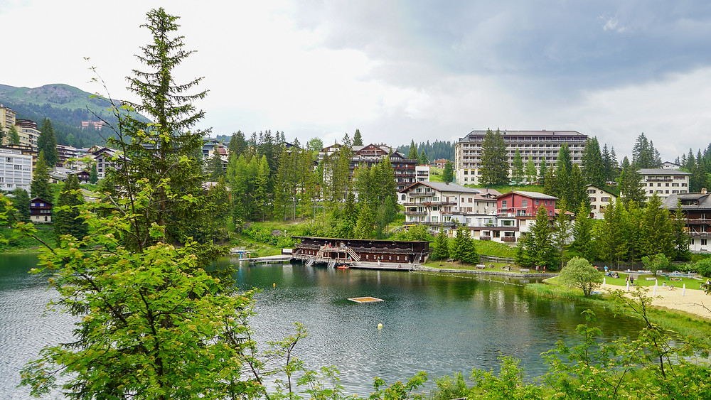 Untersee Arosa Grisons Swiss Tour 2020 Family destination