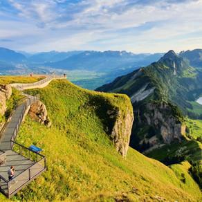 Hoher Kasten - Top of Appenzell (AI)   Swiss Tour 2020
