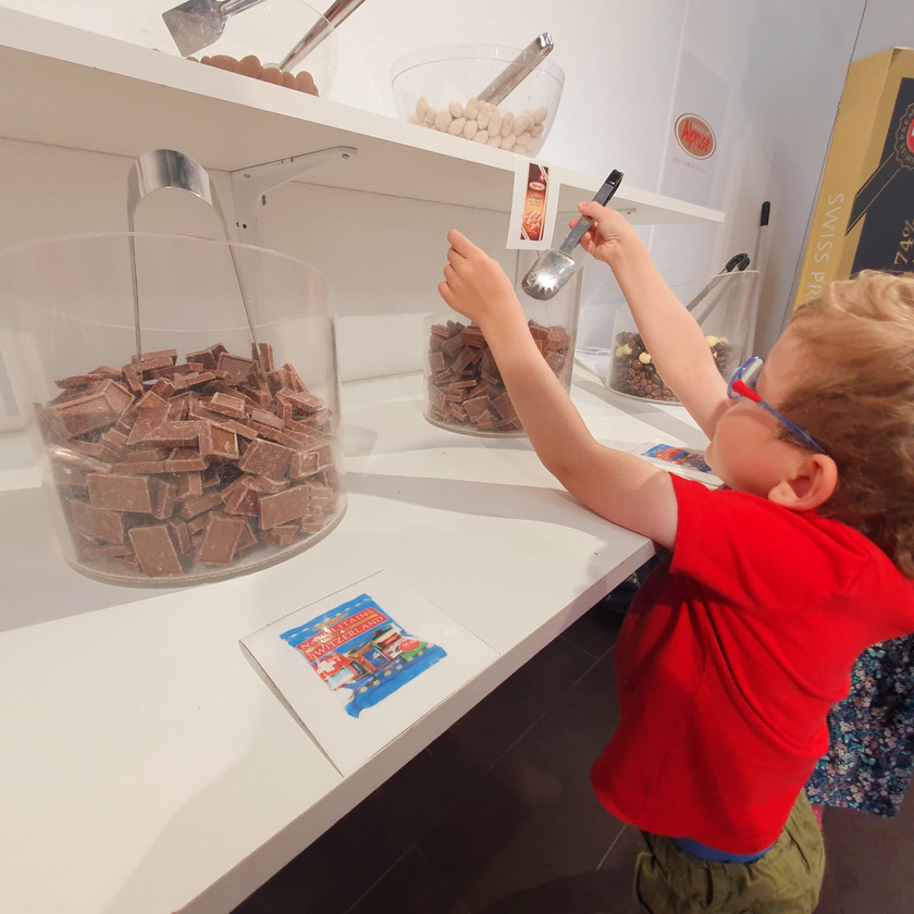 Alprose Chocolate - Swiss Family Travel Blog - Weekend in Lugano Ticino - Activities and outings